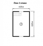 Садовый сруб Дома из бруса Прима 6 х 6,  с установкой. - foto 0